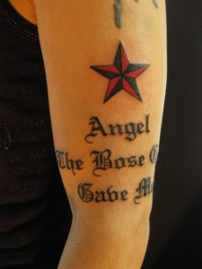 Nautical Star lettering